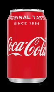Coca-Cola Regular blik tray NL 24x0,33L